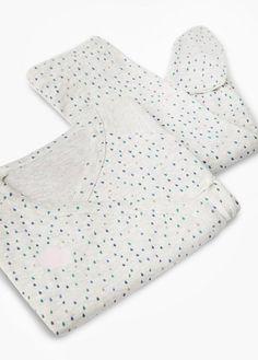 Długa piżama w groszki | MANGO KIDS