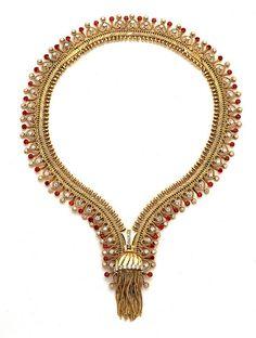 Van Cleef  Arpels Zip necklace ruby 1954