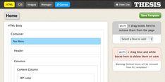 Thesis Skin HTML Editor for Wordpress