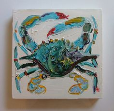 Blue Crab - beautiful painting