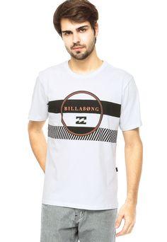776a7ae568 Camiseta billabong branca. camiseta billabong branca