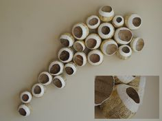 "Dulcet 48 x 18 x 6"" - Paper Sculpture by  LISA OCCHIPINTI"