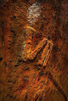 The hull of the old fishing boat rusts slowly away. The textures and colours of this really attracted me.
