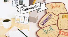10 Calendarios creativos y originales para tener en tu casa