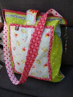 """""""Spontane Tasche"""" - Rückseite..."""