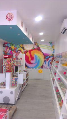 Tienda de Caramelos,piruletas | Proyectos Reformas Locales Comerciales