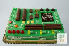 Circuit Cake Torta De Circuito Cakes For Boys Tortas