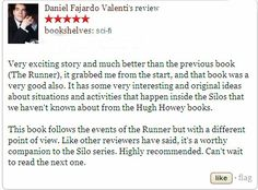 """Check out the review of """"The Diver"""" by Daniel Fajardo Valenti at Goodreads. If you want to know more about this book visit http://wjdaviesauthor.com/books/ #goodreads #bookreviews #amazonbooks"""