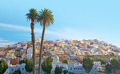 Hovedstaden Las Palmas byder på hyggelige caféer, kulturelle seværdigheder, gode shoppingmuligheder og muligheden for at se spaniernes side af Gran Canaria - glæd dig! Se mere på www.apollorejser.dk/rejser/europa/spanien/de-kanariske-oer/gran-canaria