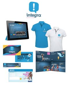 #logo #identity #branding #blanconegro #integra #advertising