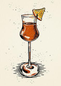 Cocktails on Behance