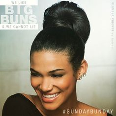 It's #SUNDAYBUNDAY! Our bun hairpieces are perfect to pop over your ponytail for an easy & chic hairstyle for morning service or going to brunch!  Find your favorite bun or hair wrap at hairextensions.com! https://www.instagram.com/p/BRi_RhPBKUH/ Shop now: https://hairextensions.com/