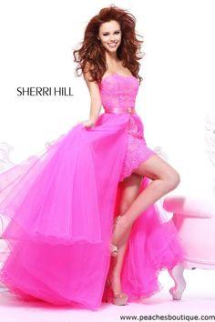 Sherri Hill Dress 21165 at Peaches Boutique