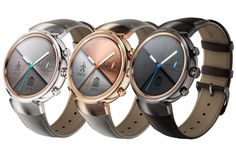 IFA 2016 : ASUS、円型に変わった新型Android Wear「ZenWatch 3」を発表 | juggly.cn