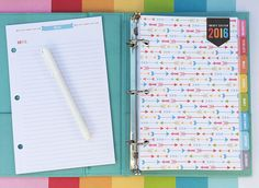 Lots of pages to print for free !So many pages to create a planner according to personal needs!