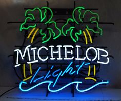 Michelob Neon Sign Real Neon Light