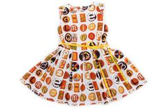 Cute dress with sweet cookies.