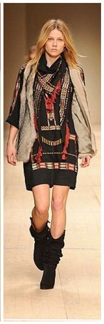 Native American Inspired Fashion has been all over the runway since 2009.