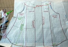 Pattern Drafting 101: How to Close a Bust Dart and Move the Fullness to the Hem