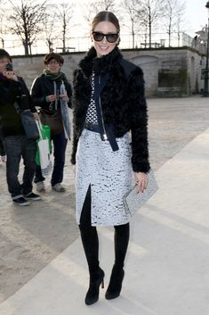Olivia Palermo #fashionweek #NinaRicci