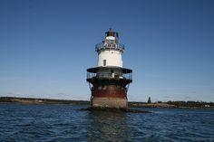 Goose Rocks Lighthouse, North Haven, #Maine, #USA