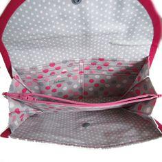 Image of Tutoriel du compagnon à soufflet Diy Bags Purses, Sew Bags, Coin Purses, Diy Sac, Couture Sewing, Purse Organization, Fabric Crafts, Louis Vuitton Damier, Pouch