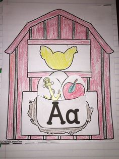 This packet will make the perfect addition to any phonics or literacy block! I love interactive notebooks! All the coloring, cutting, and pasting, keeps my kids engaged. I love to use this while I'm having guided reading groups. This engaging barnyard theme is sure to get your students excited about the alphabet while reinforcing letter recognition and initial sounds. It's perfect for you RTI groups. My kids LOVE putting the eggs in the basket.