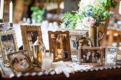 Everything about this rustic wedding was handmade – even the dress!