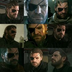 Big Boss  // punished venom snake