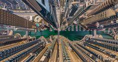 19 Imagens Aéreas Incríveis De Cidades: Dubai, Emirados Árabes Unidos.