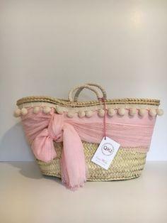 Basket crochet michael kors 65 ideas for 2019 Diy Straw, Straw Bag, Diy Tote Bag, Reusable Tote Bags, Straw Handbags, Jute Bags, Craft Bags, Basket Bag, Crochet Handbags