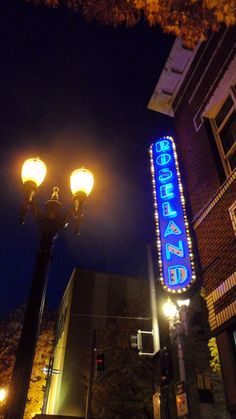 roseland theater in portland, oregon. Saw Counting Crows and BB King. Annual trip! Great venue!
