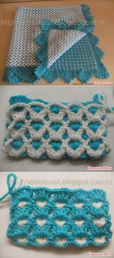 Learn to crochet a beautiful, amazing infinity scarf within the very reasonable period of time. I believe that a good half an hour is enough to crochet yourself Crochet Stitches Patterns, Crochet Designs, Stitch Patterns, Knitting Patterns, Knitting Stitches, Crochet Crafts, Crochet Projects, Diy Crochet, Baby Blanket Crochet