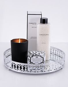 Make her feel pampered and spoiled with this lavish gift set. This luxury Christmas gift will make any woman feel special! Treat her to an array of luxurious treats to enjoy at bath time. Luxury Christmas Gifts, Christmas Gifts For Girlfriend, Christmas Gifts For Friends, Christmas Gifts For Mom, Pink Happy Birthday, Happy Birthday Candles, Star Candle, Mirror Tray, Incredible Gifts