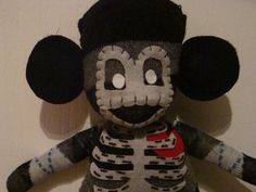 Skeleton Sock Monkey / Zombie Sock Monkey PATTERN with Instructions. $5.95, via Etsy.