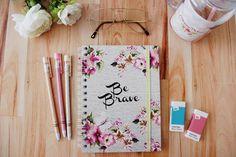 Caderno 15x20 Be Brave - Donna Dolce