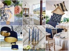 Navy & Gold wedding insperation