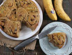 В следующий раз положить побольше начинки, послаще банан и  добавить в тесто стевию, резать булки покрупнее