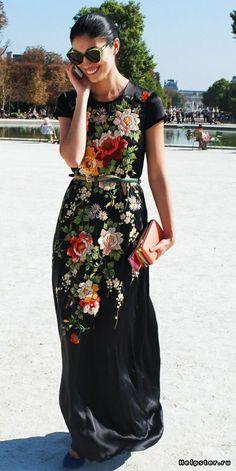 Помогите подобрать, что сшить из вышитой восточной ткани (из сари) / платье из сари сшить