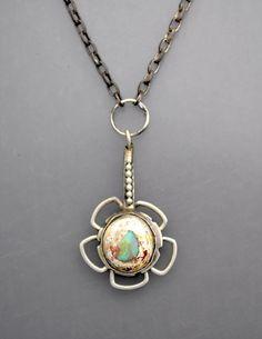 Jelly Opal Necklace 4 by Temi on Etsy