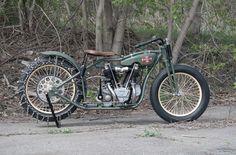 "Vintage Motorcycles   1928 Excelsior ""Big Bertha"" Hillclimber"
