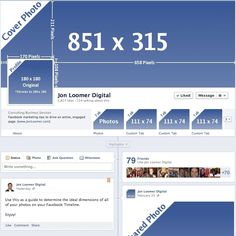 Facebook Timeline Dimensions: Another Change > Facebook is always keeping us on our toes!