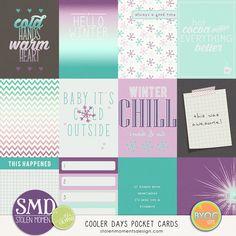 Cooler Days Pocket Cards by Stolen Moments Design