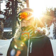 pretty ski hair