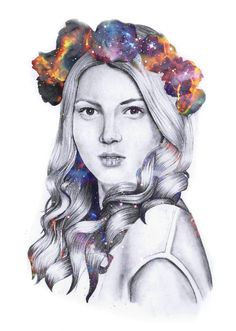 galaxy roses crown girl inspired graphite drawing art imborrero artwork painted by hand Drawing Art, Art Drawings, Graphite Drawings, Roses, My Arts, Crown, Photo And Video, Inspired, Artwork