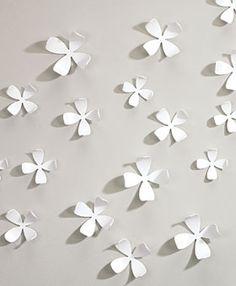 White Dogwood Wallflowers 3-D Wall Art