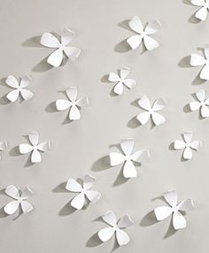 White Dogwood Wallflowers 3-D Wall Art