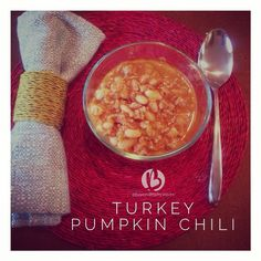 HEALTHY {Crock Pot Turkey White Bean Pumpkin Chili} LOVE this dinner ...