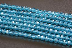 6MM Round Glass Crystal Beads by TwinBeadsLLC on Etsy