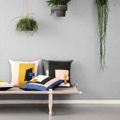 Fragment Cushion - Grey